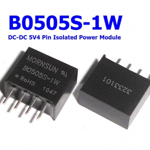 B0505S-1W DC-DC 5V 4 Pin Isolated Power Module