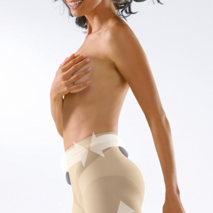 Control Body ชุดกระชับสัดส่วน แบบครึ่งตัวขาสั้น - SHAPING SHORT WITH MEDIUM COMPRESSION Shapewear