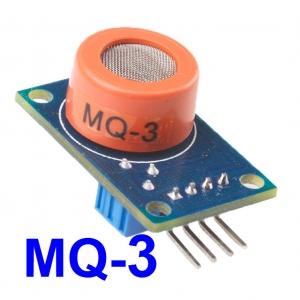 MQ3 ( Alcohol Vapor , Ethanol, Smoke ) Gas Sensor Module