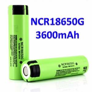Panasonic NCR18650G 3600mAh 3.7V 18650 Lithium Battery