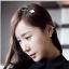 ที่คาดผมรูปใบcoverเกาหลีสีขาว thumbnail 1