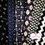 Set 6 ชิ้น : ผ้าคอตตอน 100% โทนสีน้ำเงินกรมท่า 6 ลาย ชิ้นละ1/8 ม.(50x27.5ซม.) thumbnail 2