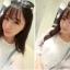 เสื้อแฟชั่นเกาหลี แขนสามส่วน ตัดเย็บผสมผ้าซีทรู ติดโบว์แขนเสื้อน่ารักๆ สวย ดูดี น่ารักฝุดๆ thumbnail 11