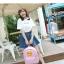 กระเป็าเป้แฟชั่น เซทพิเศษ 4 ใบ สีพาสเทลหวานโดนใจ thumbnail 12