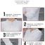 เสื้อชีฟองใหม่ สไตล์สาวเกาหลี ปกสูงแต่งด้วยลูกไม้ กับสีพื้นยอดนิยม ขาว - ดำ - แดง thumbnail 8