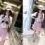 เดรสสั้นสีหวาน สำหรับสาวหวานที่ชอบลายแนวฮิพฮอพ พร้อมตัวเลข thumbnail 3