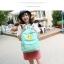 กระเป็าเป้แฟชั่น เซทพิเศษ 4 ใบ สีพาสเทลหวานโดนใจ thumbnail 26