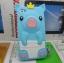 เคสไอโฟน 5/5s/SE (Case Iphone 5/5s/SE) เคสซิลิโคน หมูน้อย สีฟ้า thumbnail 1