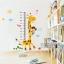 สติ๊กเกอร์วัดส่วนสูงยีราฟ ลิง a09 thumbnail 1