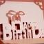 A36 การ์ดป๊อปอัพไดคัท Happy Birthday 2 thumbnail 11