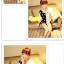 เสื้อแฟชั่นเกาหลี มาในลวดลายสุด chic คอเสื้อแบบคอวี สีทูโทน thumbnail 8