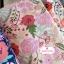 ผ้าคอตตอนลินิน 100% 1/4 เมตร(50x55cm.) โทนสีชมพูอ่อน ลายblossom thumbnail 1