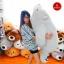 หมีหลับตัวใหญ่ นุ่มนิ่ม ใยไมโครนุ่ม thumbnail 4
