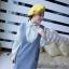 เดรสสั้นเกาหลีใหม่ ต้อนรับหน้าหนาวด้วยเดรสแขนยาวที่มาพร้อมกับเสื้อกั๊กกระโปรง thumbnail 4