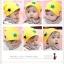 หมวกเด็กอ่อนลายดาว  thumbnail 1