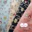 ผ้าคอตตอนไทย 100% 1/4ม.(50x55ซม.) พื้นสีครีม ลายนกฮูก thumbnail 4