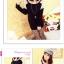 เสื้อคลุมเกาหลีแขนยาว เพิ่มความอุ่นแก่ร่างกายต้อนรับหน้าหนาว thumbnail 3