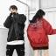 *Pre Order* Jacket baseball แฟชั่นญี่ปุ่นชาย/หญิง size S- M-L-XL สีดำ/แดง