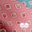 ผ้าคอตตอน 100% 1/4 ม.(50x55ซม.) พื้นสีชมพู ลายดอกกุหลาบ thumbnail 1