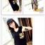เสื้อยืดแฟชั่นเกาหลีพิมพ์ลายใหม่ จะใส่เป็นเสื้อหรือว่าจะเป็นเดรสสั้น ก็เก๋ไม่ซ้ำใคร thumbnail 4