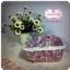 ตะกร้าผ้า ลายดอกกุหลาบ thumbnail 2