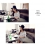 เสื้อแฟชั่นสตรีใหม่ สีขาวพื้น ลวดลายตาราง ทรงสวย ใส่สบาย คลาสสิคสุดๆ thumbnail 9