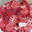 ผ้าคอตตอนลินิน 100% 1/4 เมตร(50x55cm.) โทนสีแดง ลายblossom thumbnail 1