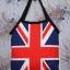 กระเป๋าผ้าcanvas สกรีนลาย ธงอังกฤษ thumbnail 1