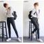 กางเกงยีนส์แฟชั่นยอดนิยม สีดำทรงคลาสสิค สีนี้ทรงนี้ ยังไงก็ต้องมีไว้ครอบครอง thumbnail 9