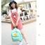 กระเป็าเป้แฟชั่น เซทพิเศษ 4 ใบ สีพาสเทลหวานโดนใจ thumbnail 25