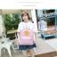 กระเป็าเป้แฟชั่น เซทพิเศษ 4 ใบ สีพาสเทลหวานโดนใจ thumbnail 11