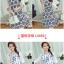 ชุดเดรสแฟชั่น สกรีนลายสดใส น่ารักๆ ผ้าเบาสบาย set 3 thumbnail 8