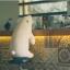 ตุ๊กตาหมีขี้เซา Sleepy bear สีขาวมาชเมลโล่ (ใย3D) thumbnail 9