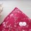 ผ้าคอตตอนไทย 100% 1/4ม.(50x55ซม.) พื้นสีแดง ลายเครือดอกไม้ thumbnail 1