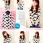 เสื้อแฟชั่นเกาหลี SET เบาสบาย ด้วยผ้าชีฟอง ต้อนรับกับช่วง summer H127 thumbnail 2