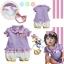 ชุดเด็ก Baby Daisy Duck + ผ้าคาดผม thumbnail 1