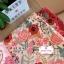 ผ้าคอตตอนลินิน 100% 1/4 เมตร(50x55cm.) โทนสีขาว ลายblossom thumbnail 2