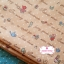 ผ้าคอตตอนไทย 100% 1/4 ม.(50x55ซม.)ลายน้องซู พื้นสีโอรส thumbnail 1