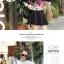 เดรสสั้นเกาหลี แขนยาว ลายดอกไม้สวยหวาน เข้ากับชุดสีพื้นได้อย่างลงตัว thumbnail 9