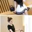 เดรสแฟชั่นสวยใส สไตล์สาวเกาหลี กับสีทูโทนขาวดำ เพิ่มโบว์ขนาดใหญ่ให้น่ารักสมวัย thumbnail 8