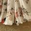 ชุดเซทผ้าชีฟอง ลวดลายดอกไม้สวยๆ ใส่เบาสบาย มีซับในในตัว SET1 thumbnail 20