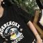 เสื้อยืดแฟชั่น โชว์เดินรอยเย็บสวยๆ กับสกรีนโลโก้โดนๆ thumbnail 1