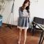 เดรสสั้นเกาหลีมาใหม่ โปร่ง ใส่สบาย น่ารักแบบสาวหวานสุดๆ thumbnail 6