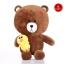 ตุ๊กตาหมีบราวน์ Brown Line ถือเป็ดแซลลี่ 80 cm. thumbnail 1