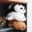 ตุ๊กตา วีแบแบร์ We bare bears (หลับ) thumbnail 8