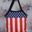 กระเป๋าผ้าcanvas สกรีนลาย ธงอเมริกา thumbnail 1