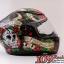 MT Revenge Skull & Roses - Gloss Black / Red thumbnail 4