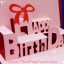 A36 การ์ดป๊อปอัพไดคัท Happy Birthday 2 thumbnail 2