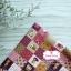 ผ้าคอตตอนไทย 100% 1/4 ม.(50x55ซม.) ลายตารางน้องซู โทนสีชมพูคลาสสิค thumbnail 1
