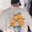 *Pre Order*เสื้อยืดแขนสั้น@ Hong Kong art boy ผ้าฝ้าย 100% พิมพ์ลาย/ญี่ปุ่น size M-2XL